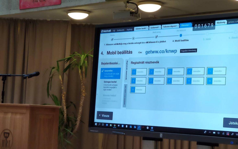 WordWall3, i3learnhub és Zspace szoftveres bemutató